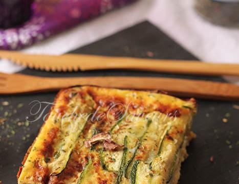 Parmigiana courgette mozzarella1