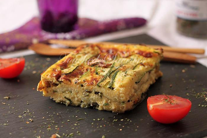 Parmigiana courgette mozzarella2