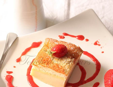 Gâteau magique vanille2
