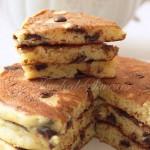 Pancakes ricotta orange