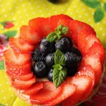 Tartelette fraise myrtille beurre d'amande1