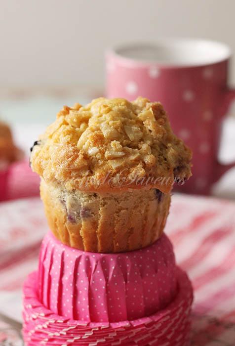 Muffins crumble citron myrtille1
