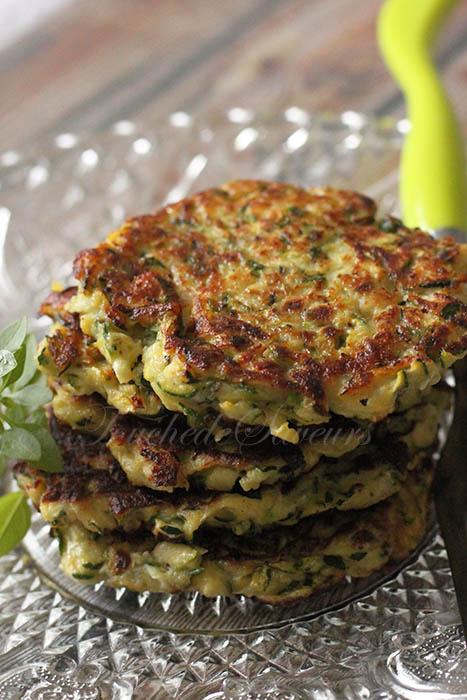 galette courgette parmesan1