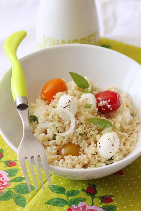 Salade boulghour tomate mozzarella1