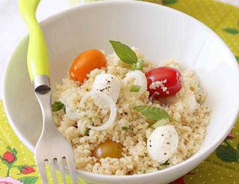 Salade boulghour tomate mozzarella2