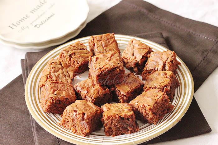 Brownie chocolat caramel2