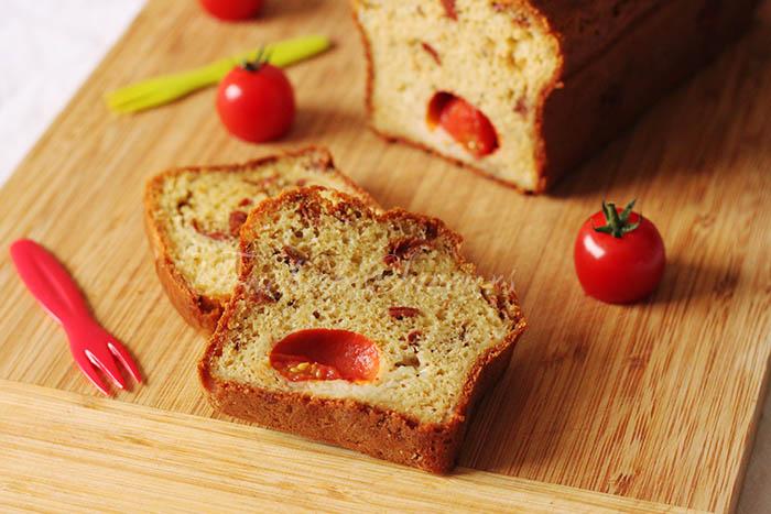Cake aux 2 tomates