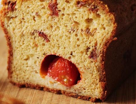 Cake aux 2 tomates1