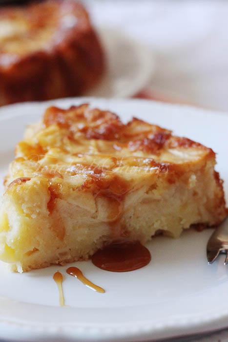 French apple cake2