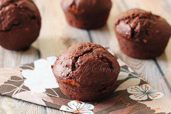 Moelleux chocolat noisette caramel1