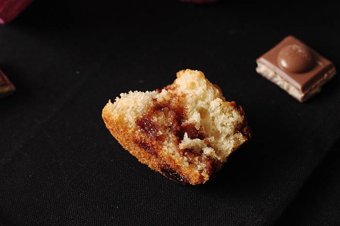 Muffins chocolat lait caramel noisette2