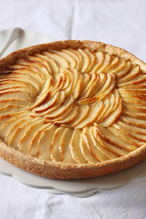 Tarte aux pommes cap p tisserie - Tarte aux pommes compote maison ...