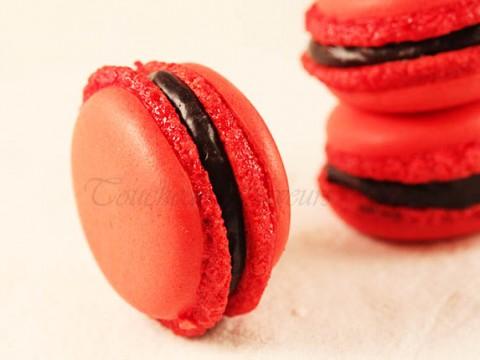 macarons ganache chocolat1