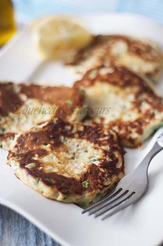 pancakes petits pois1
