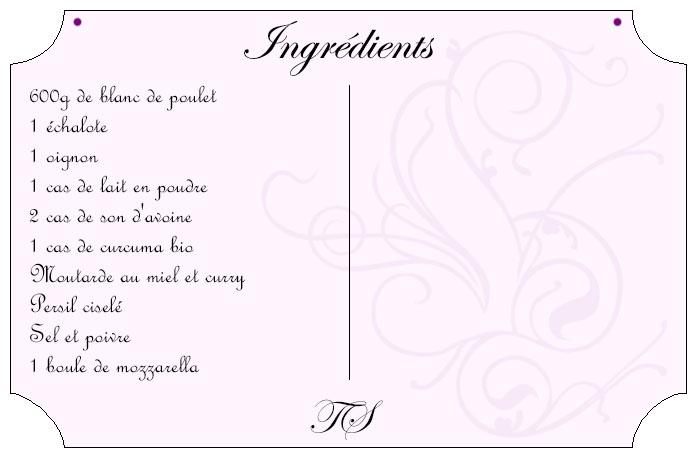 Boulettes coeur mozzarella