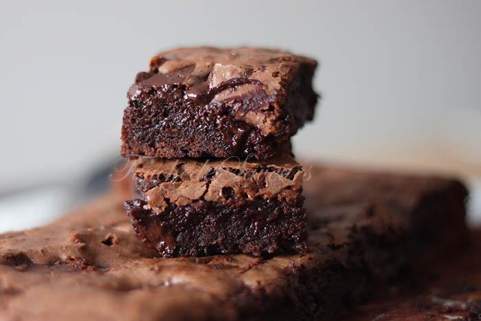 Brownie chocolat carambar1