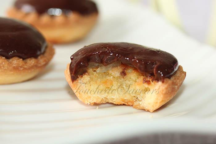 Mini tartelette poire crémeux chocolat2