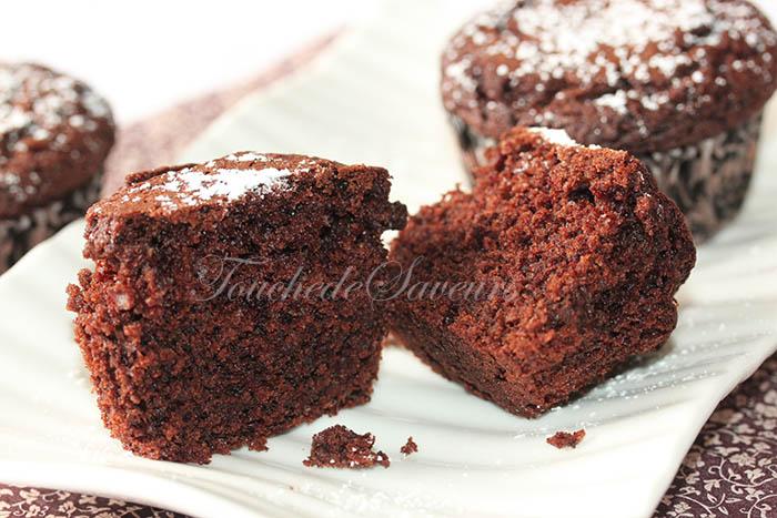 Muffins au chocolat hyper moelleux1