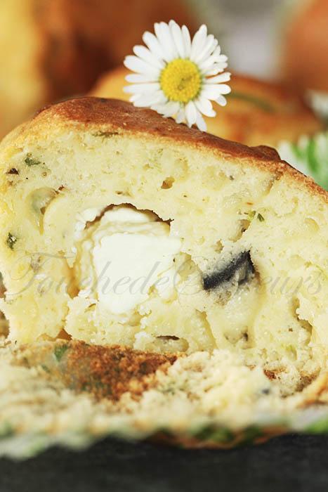 Muffins aux herbes coeur de fêta2