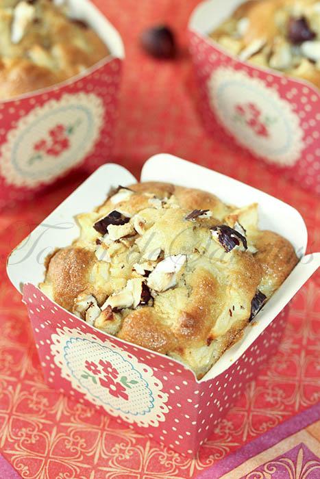 Muffins aux pommes et à l'huile de noisette1