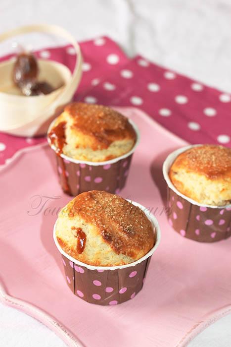 Muffins coeur caramel beurre salé1