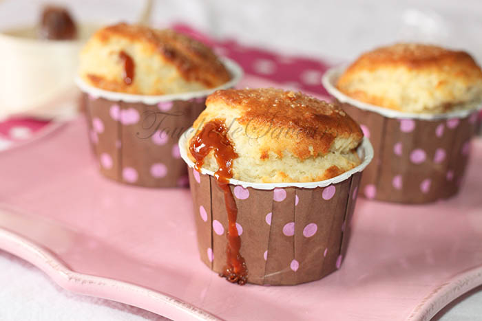 Muffins coeur caramel beurre salé2