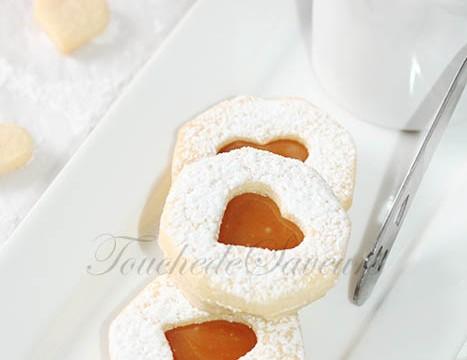 Sablés fourrés caramel beurre salé