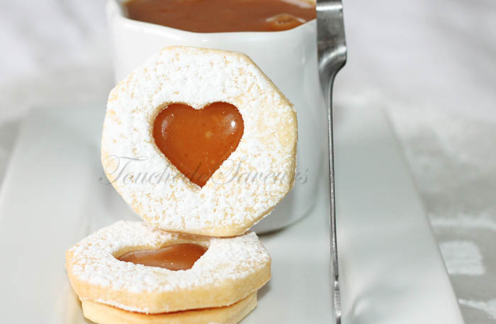 Sablés fourrés caramel beurre salé1