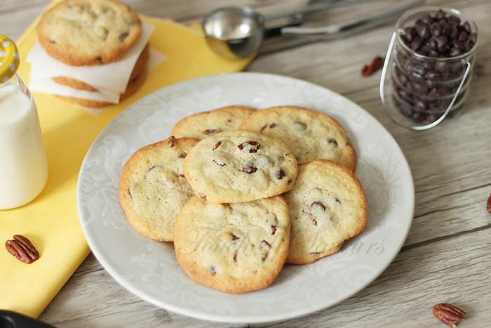 Cookies aux pépites de chocolat noir et noix de pecan1