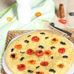 Focaccia pomme de terre tomate olive1