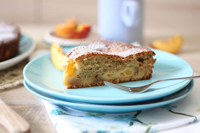 Gâteau pêche yaourt2