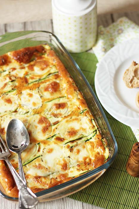 Gratin courgettes mozzarella1