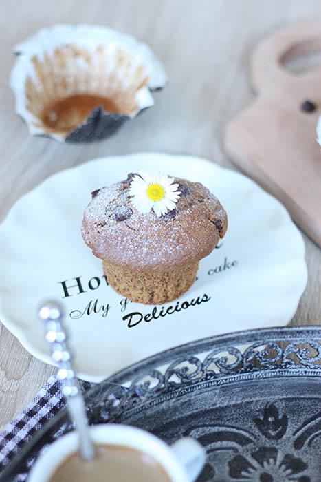 Muffins café coeur nutella1
