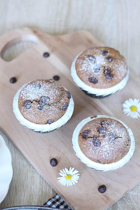 Muffins café coeur nutella2