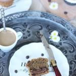 Muffins café coeur nutella