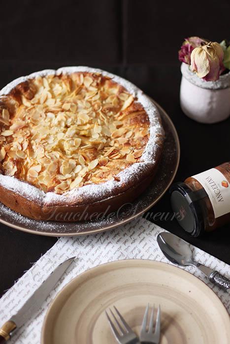 Gâteau moelleux pommes mascarpone1