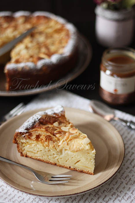 Gâteau moelleux pommes mascarpone2