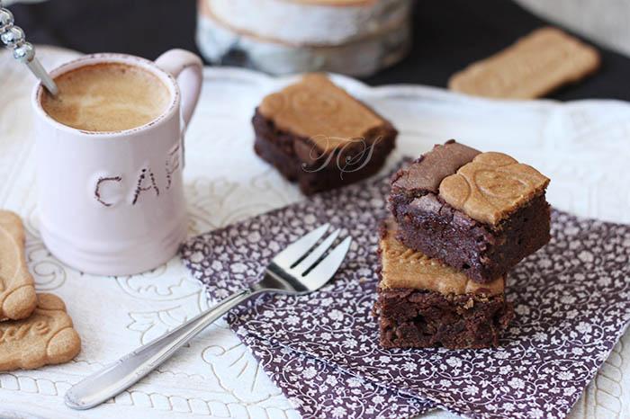 Brownies chocolat speculoos2
