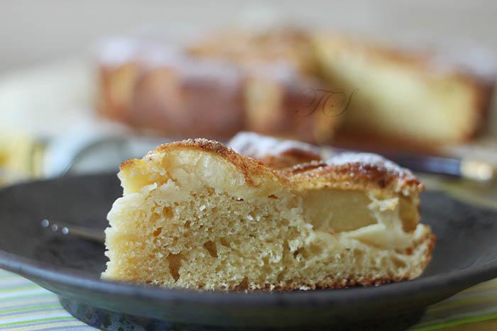 Gâteau léger pommes citron cannelle1