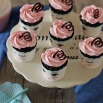 Cupcakes chocolat chantilly rose mascarpone1