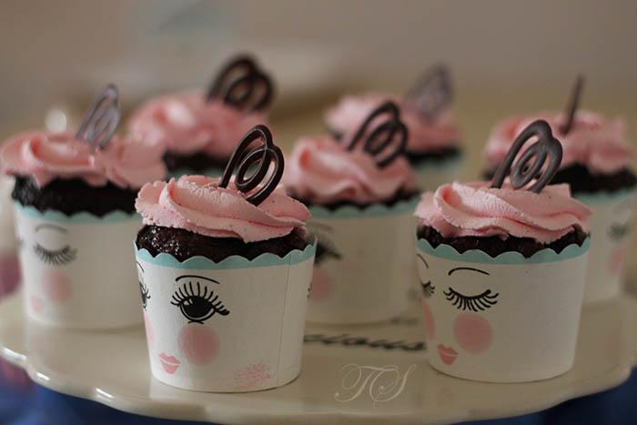 Cupcakes chocolat chantilly rose mascarpone3