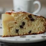 Gâteau ricotta poire pépites de chocolat1