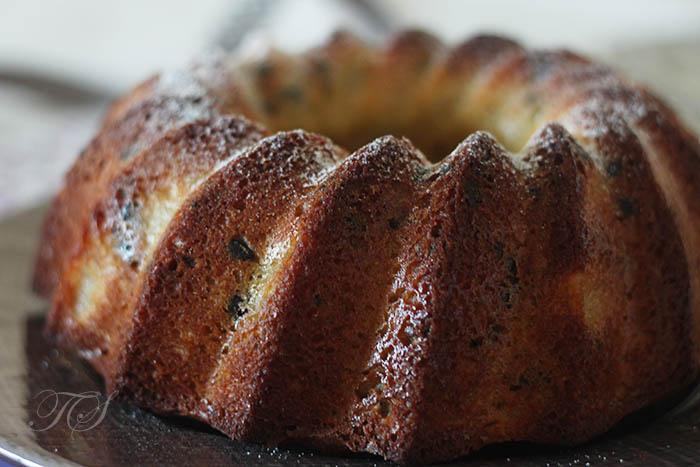 Cake Poire Poudre Amande Chocolat