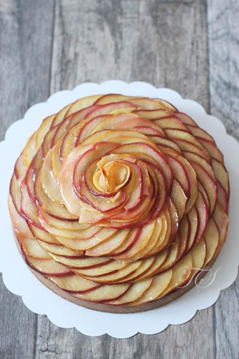 Tarte aux pommes Cédric Grolet