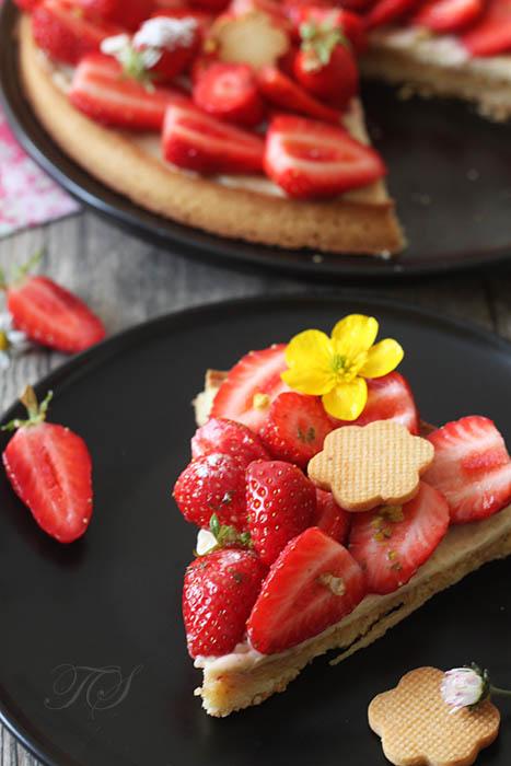 Tarte aux fraises3
