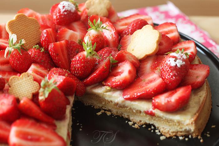 Tarte aux fraises4