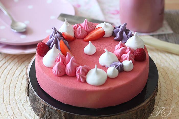 Cheesecake fraise framboise1